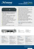 Receptor Terestru de Inalta Definitie SRT 8110 - STRONG Digital TV - Page 2