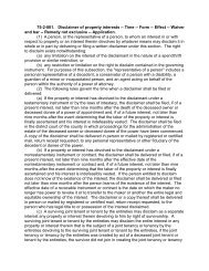 75-2-801. Disclaimer of property interests -- Time -- Form -- Effect ...