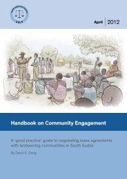 Handbook on Community Engagement - Interfaith Center on ...