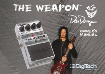 Dan Donegan The Weapon Owner's Manual-English - Digitech