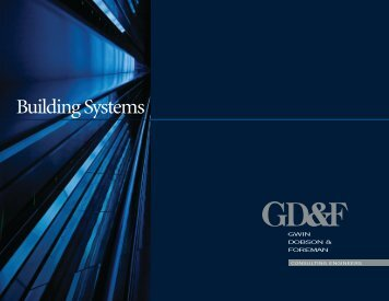 09-GD-0222.Building Systems - Gwin, Dobson & Foreman, Inc.