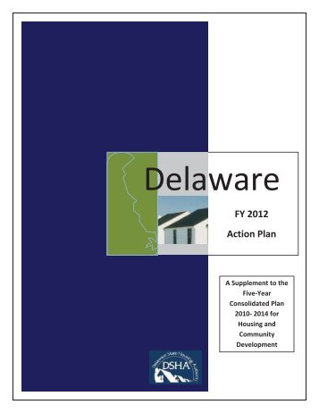 FY 2012 Action Plan - Delaware State Housing Authority