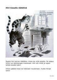 Hiiri kissalla räätälinä