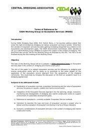 WGES TOR - Central Dredging Association