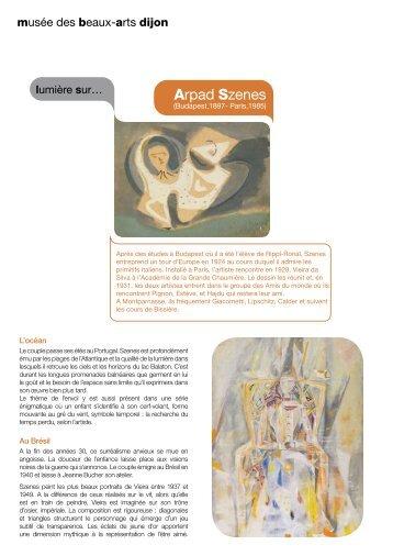 Arpad Szenes - Musée des beaux-arts de Dijon