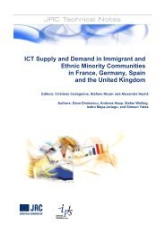 ICT supply and demand in immigrant and ethnic minority ...