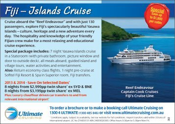 Download package PDF - Ultimate Cruising