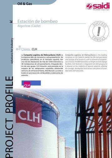 Estación de bombeo CLH en Algeciras (Cádiz) - SAIDI