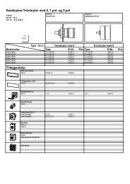 Kambrytere Trinnbryter med 0, 1-pol- og 2-pol Tilleggsutstyr - Moeller