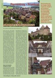 Porrentruy • Pruntrut - Birseck Magazin