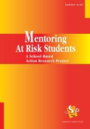 Mentoring At Risk Students - A School-Based ... - Victoria University