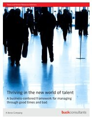 business-centered framework for managing through good times and ...