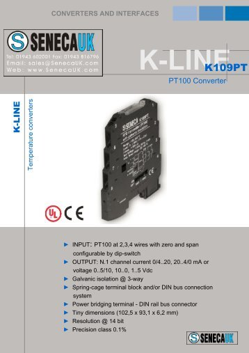 the K109PT datasheet
