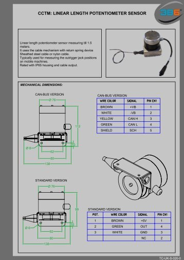 CCTM: LINEAR LENGTH POTENTIOMETER SENSOR - 3b6.it