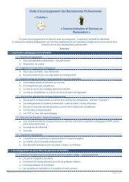 Guide d'accompagnement des baccalauréats professionnels - Sites ...