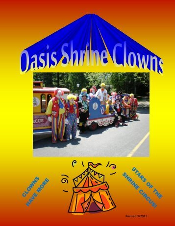 Clowns - The Oasis Shriners
