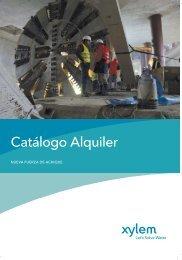 Catálogo Alquiler - Water Solutions