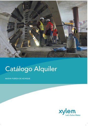 Catálogo Alquiler - Water Solutions