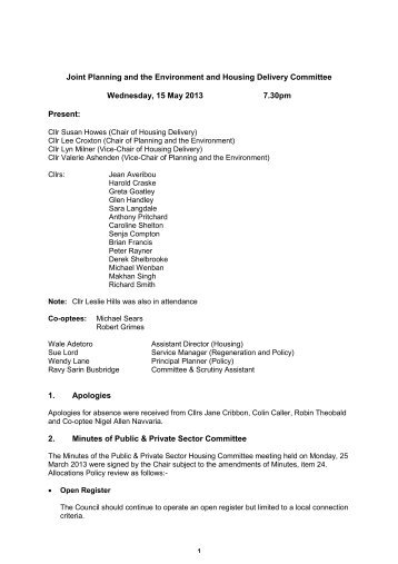 Minutes PDF 62 KB - Gravesham Borough Council