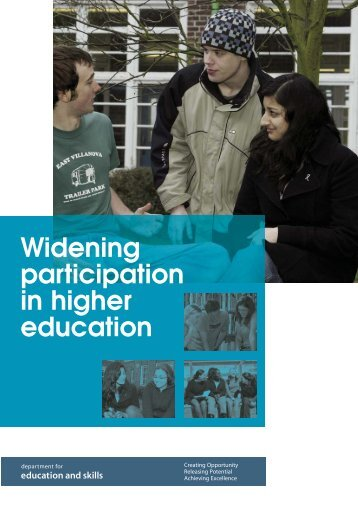 6820-DfES-Widening Participation 2 - Institute for Higher Education ...