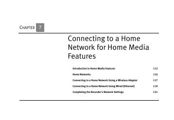 HUMAX DVD Recorder Viewers Guide - Home Media Features - TiVo