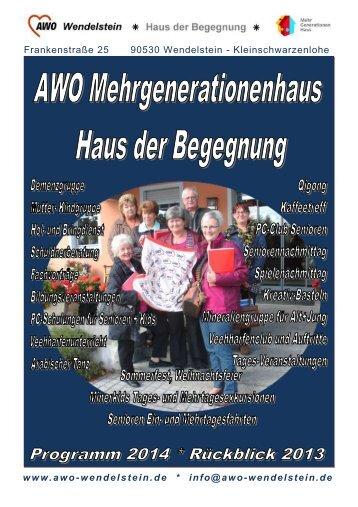 heft2014online - der Awo Wendelstein