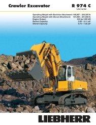 Crawler Excavator R 974 C