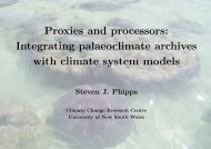 Integrating palaeoclimate archives with climate system models