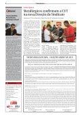 Metalúrgicos confirmam a CUT na Direção do Sindicato - CNM/CUT - Page 2