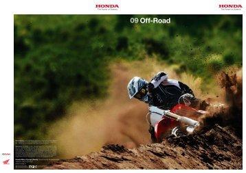 09Off-Road - Honda