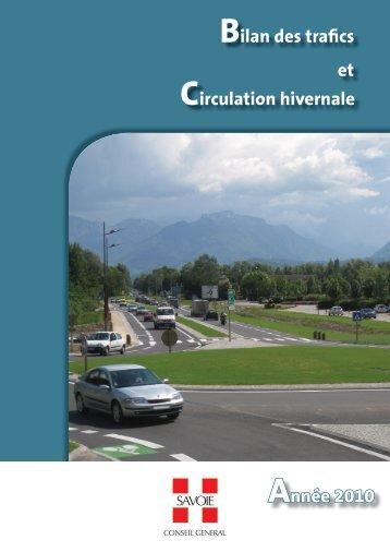 Evolution du trafic sur Routes Nationales au cours des dix dernières ...