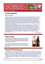 Ekim - (ITU) Library - İstanbul Teknik Üniversitesi