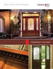 Classic-Craft® Premium Entryways - Huttig Building Products
