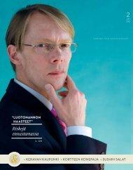Riskejä ennustamassa - Lindorff Oy