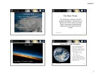 Earth Atmosphere and Climate - IRS, The Infrared Spectrograph