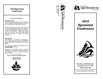 Registration Form - South Dakota Agri-Business Association