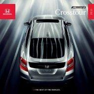 Crosstour 201 - Honda Canada