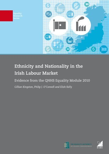 Ethnicity and Nationality in the Irish Labour Market - Equality Authority