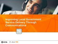 Improving Local Government Service Delivery Through - Ash Telecom