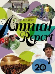 2011 Annual Report - Our House