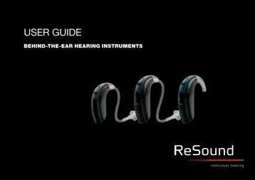 user guide gn resound rh yumpu com ReSound Hearing Aids Complaints ReSound Hearing Aids at Costco