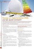 Réglementation PEB : au-delà de Kyoto - ProFacility.be - Page 6