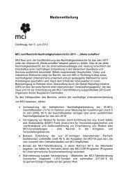 press release - expo >< event - live communication verband schweiz