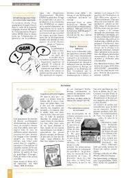 Sélection de nouveaux ouvrages et outils - Symbioses