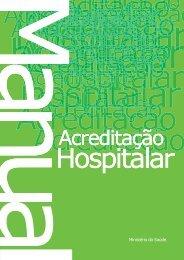 Manual de Acreditação Hospitalar - BVS Ministério da Saúde