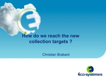 How to reach the collection target - Ecotic