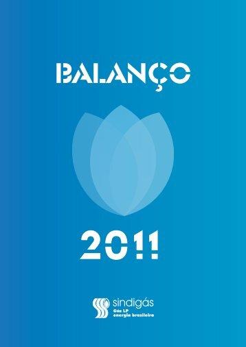 balanço 2011 - Sindigás