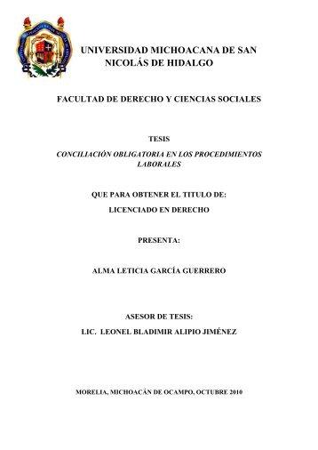 conciliacion obligatoria en los procedimientos laborales - Biblioteca ...