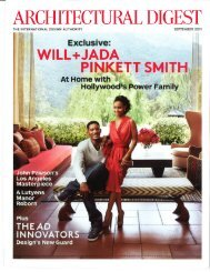 Architectural Digest - Rose Tarlow Melrose House