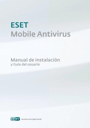 Manual de Instalación ESET Mobile Antivirus